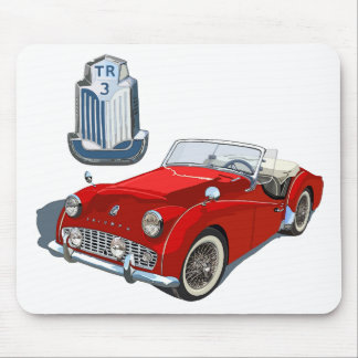 Red TR3 Mouse Pad
