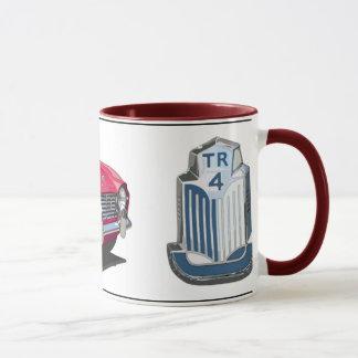 Red TR4 Mug