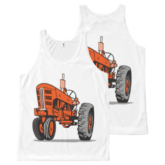 RED TRACTOR All-Over-Print TANK TOP