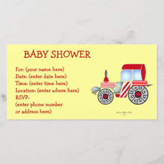 Red Tractor Baby Shower