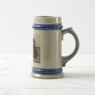 Red Tractor Beer Stein