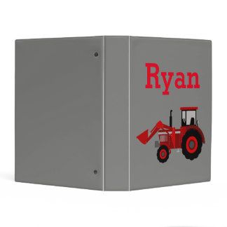 Red Tractor Binder