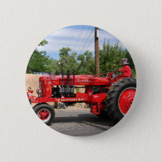 Red Tractor Button