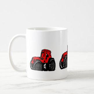 Red Tractor Coffee Mug