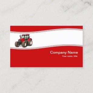 Farm tractor business cards zazzle red tractor farm supply business card colourmoves