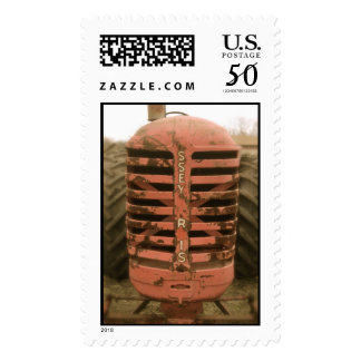 Red Tractor Grill Stamp