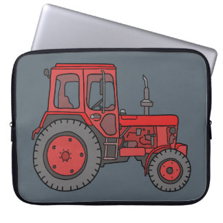 Red Tractor Laptop Sleeve