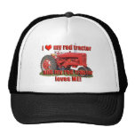 red_tractor_love gorra
