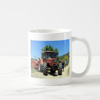 Red Tractor on El Camino, Spain Coffee Mug