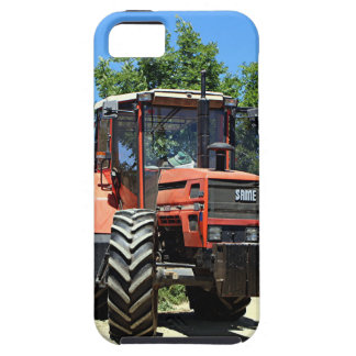 Red Tractor on El Camino, Spain iPhone SE/5/5s Case