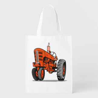 RED TRACTOR REUSABLE GROCERY BAG