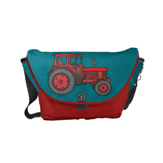 Red Tractor Small Messenger Bag