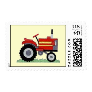 Red Tractor Stamp