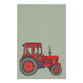 Red Tractor Stationery