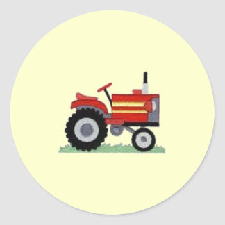 Red Tractor Sticker
