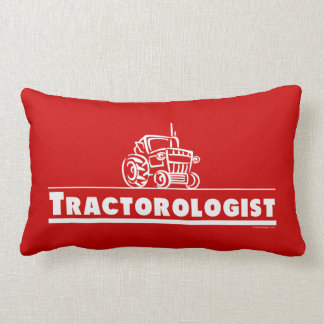 Red Tractor, Tractorologist Lumbar Pillow
