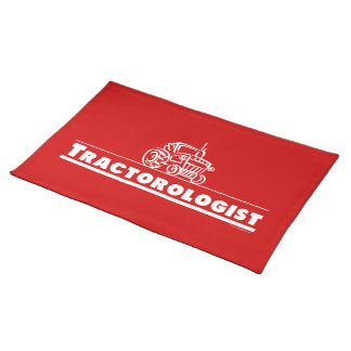 Red Tractor, Tractorologist Placemat