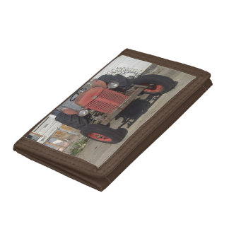 Red Tractor Tri-fold Wallets