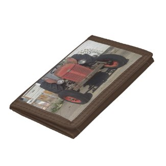 Red Tractor Wallet