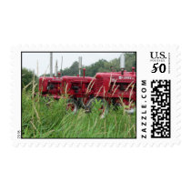Red Tractors Stamp