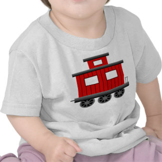 Red Train Caboose T-shirts