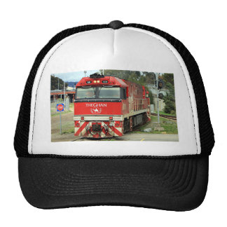 Red train locomotive, Australia 2 Trucker Hat