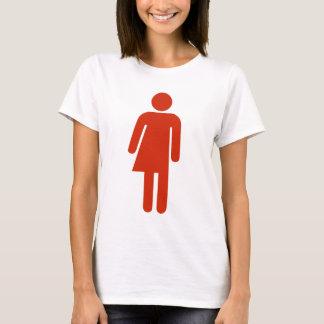 Red Transgender design T-Shirt