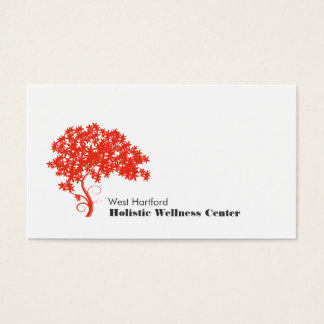 Red Tree Holistic and Alternative Health Business Card