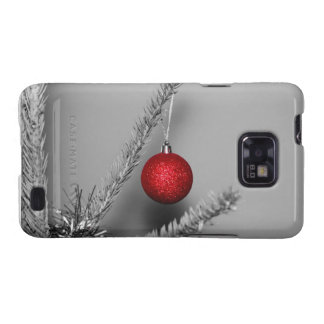 Red tree ornament galaxy SII cover