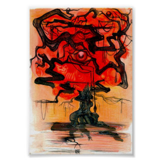 red tree posters
