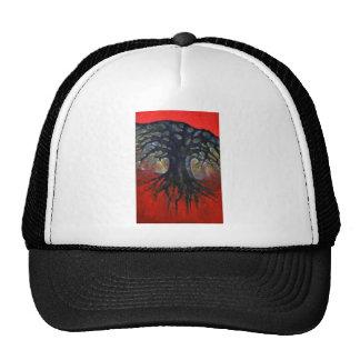 Red Tree Trucker Hat