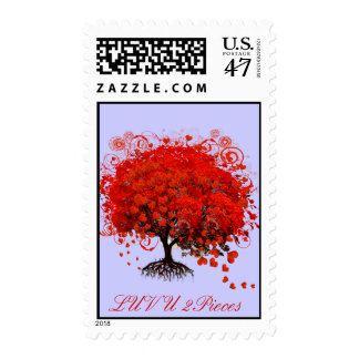 Red Tree Wedding T-Shirts, Gifts, Stickers & Favor Postage