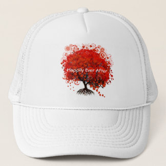 Red Tree Wedding T-Shirts, Gifts, Stickers & Favor Trucker Hat