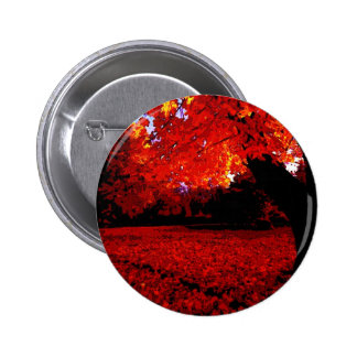 Red Trees 2 Inch Round Button