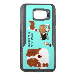 OtterBox Commuter Samsung Note 5 Case with Australian Shepherd Phone Cases design