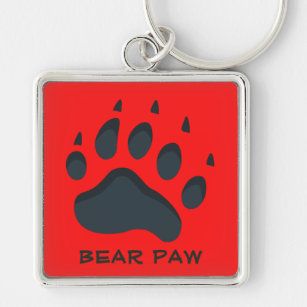 Metal Bear Paw Chainmaille Keychain  Indigenous First Nations Zipper Pull  Nature Lover Gift  Housewarming or New Car GiftMade in Canada