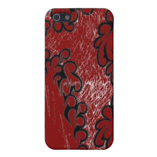 Red Tribal sharp iPhone design Case For iPhone SE/5/5s