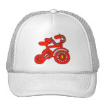 Red Tricycle 1st Birthday Hats