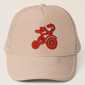 Red Tricycle 1st Birthday Trucker Hat