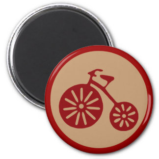 Red Tricycle Magnet