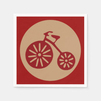 Red Tricycle Napkin