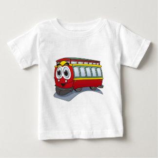 Red Trolley GT  Cartoon Baby T-Shirt