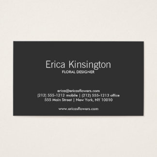 RED TROPICAL Business Card