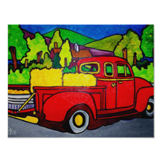 Red Truck by Pilieo Card