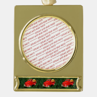 Red Truck Christmas  Ornament (4)