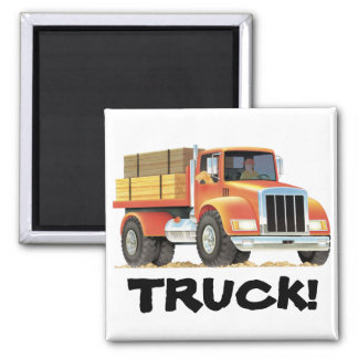 Red Truck Magnet