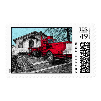 Red Truck Postage