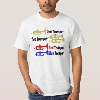 Red Trumpet Blue Trumpet T-Shirt