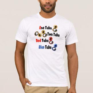 Red Tuba Blue Tuba T-Shirt