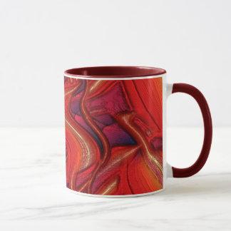 Red Tubes Mug